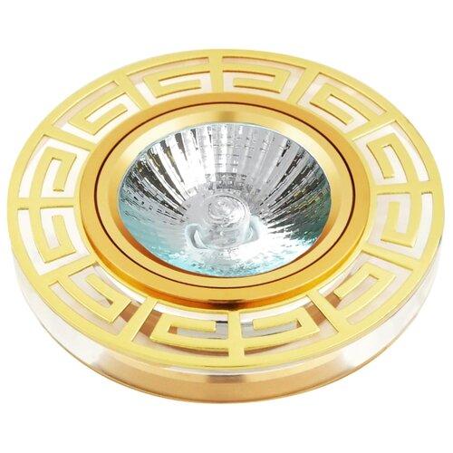 Встраиваемый светильник De Fran FT 863 G, золото / белыйВстраиваемые светильники<br>