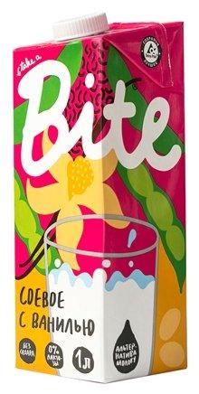 Соевый напиток Bite с ванилью 1%, 1 л