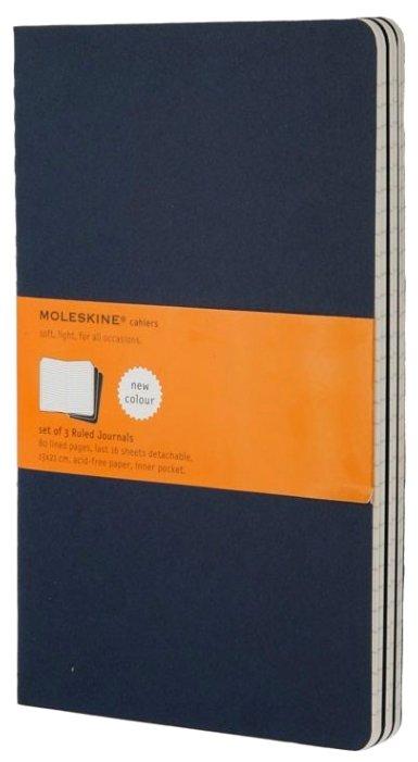 Блокнот Moleskine Cahier Journal Larg 130х210, 40 листов 394894(CH216)