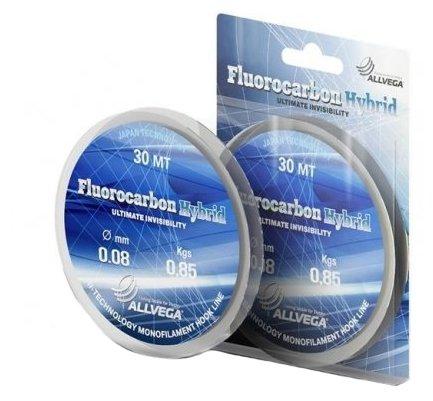 Флюорокарбоновая леска ALLVEGA FLUOROCARBON HYBRID