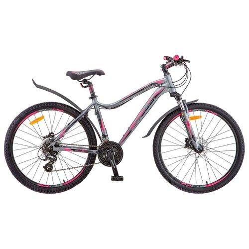 Фото - Горный (MTB) велосипед STELS Miss 6100 D 26 V010 (2019) серый 19 (требует финальной сборки) горный mtb велосипед stels miss 5000 md 26 v010 2019 бирюзовый 17 требует финальной сборки