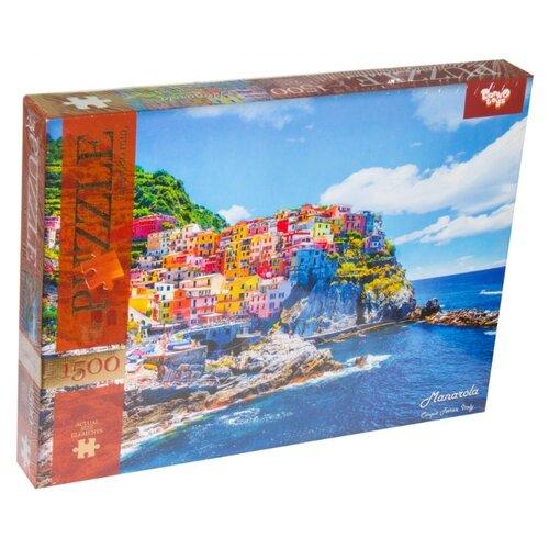 Купить Пазл Danko Toys Город на горе (C1500-02-05), 1500 дет., Пазлы