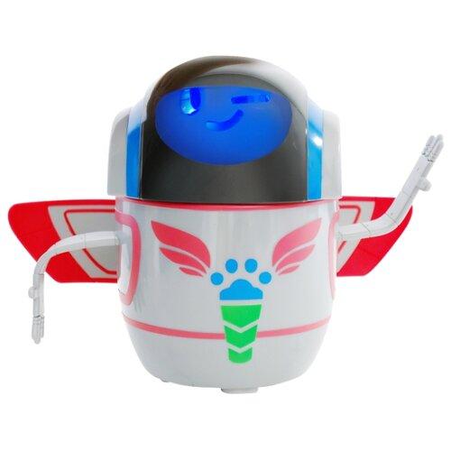 Купить Интерактивная игрушка робот РОСМЭН Герои в масках PJ Robot (35565) белый/синий/черный/красный, Роботы и трансформеры