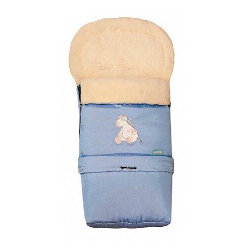 Конверт-мешок Womar Multi Arctic в коляску 83 см 9/2 голубойКонверты и спальные мешки<br>
