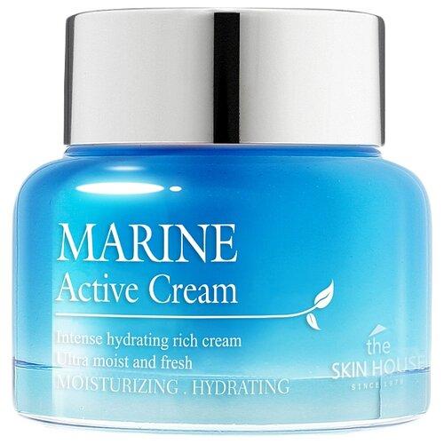 The Skin House Marine Active Cream Крем для лица с керамидами 50 млУвлажнение и питание<br>
