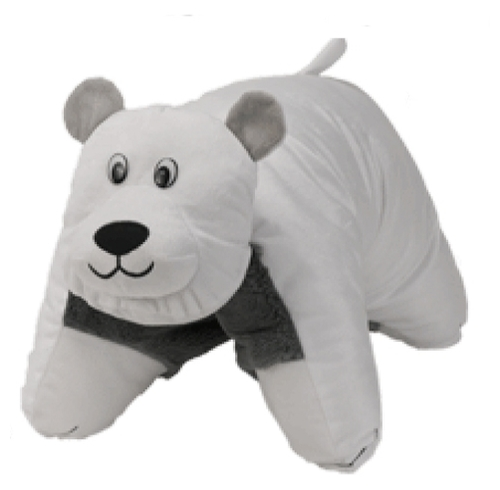 Купить Игрушка-подушка 1 TOY Вывернушка Хаски-Полярный медведь 45 ... 2a463214b9545