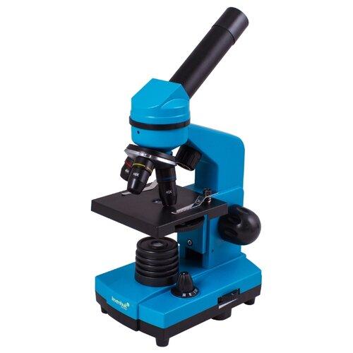 Микроскоп LEVENHUK Rainbow 2L azure микроскоп levenhuk rainbow 2l plus moonstone