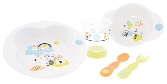 Комплект посуды Bebe confort Under the Rainbow (3105201100)