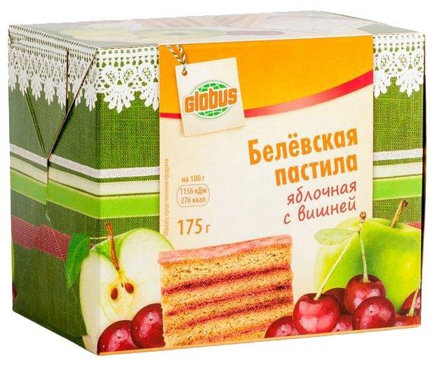 Пастила Globus Белёвская яблочная с вишней 175 г