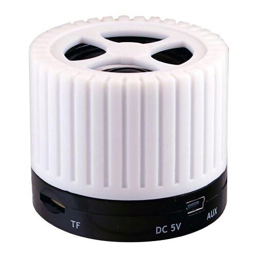 Портативная акустика Ginzzu GM-988 белый портативная акустика ginzzu gm 988r