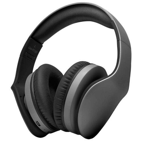 Наушники Ginzzu GM-971BT серыйНаушники и Bluetooth-гарнитуры<br>