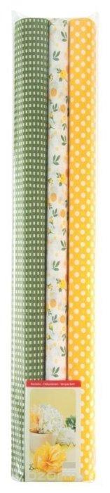 Цветная бумага крепированная в рулоне Werola, 50х200 см, 3 л., 3 цв.