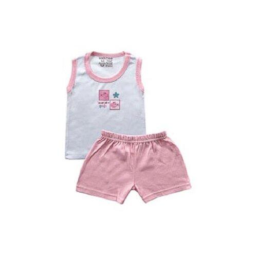 Комплект одежды Luvable Friends размер Medium, розовый РыбкаКомплекты<br>