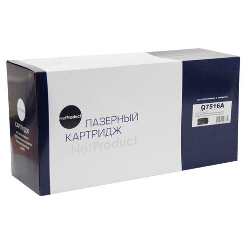 Фото - Картридж Net Product N-Q7516A, совместимый картридж net product n ce401a совместимый