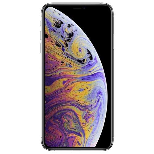 Смартфон Apple iPhone Xs Max 256GB серебристый (MT542RU/A)