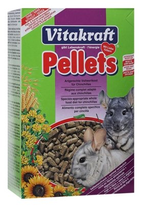 Корм для шиншилл Vitakraft Pellets 1 кг