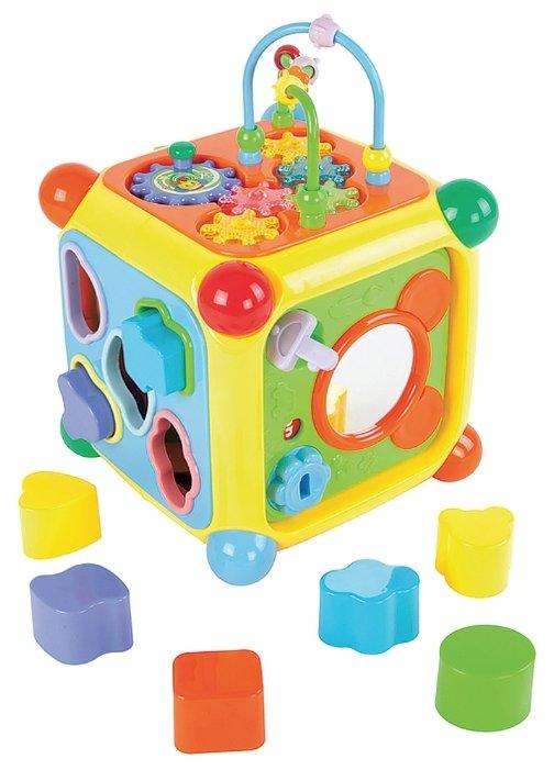 Интерактивная развивающая игрушка Жирафики Мультикуб