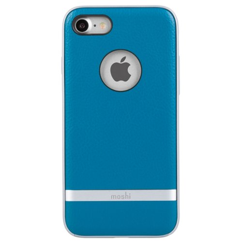 Чехол Moshi Napa для Apple iPhone 8/7 marine blueЧехлы<br>
