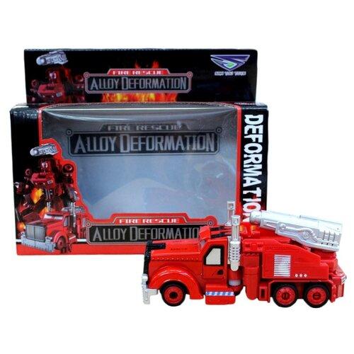 Купить Трансформер Shantou Gepai Грузовая машина SY6278B-3 красный, Роботы и трансформеры