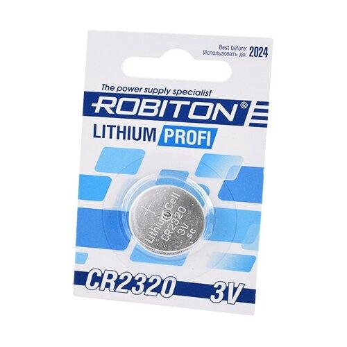 Фото - Батарейка ROBITON Lithium Profi CR2320 1 шт блистер вука вука таблетки 60 шт