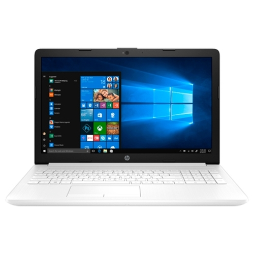 "Ноутбук HP 15-da0057ur (Intel Pentium N5000 1100 MHz/15.6""/1920x1080/4GB/500GB HDD/DVD нет/NVIDIA GeForce MX110/Wi-Fi/Bluetooth/Windows 10 Home)"