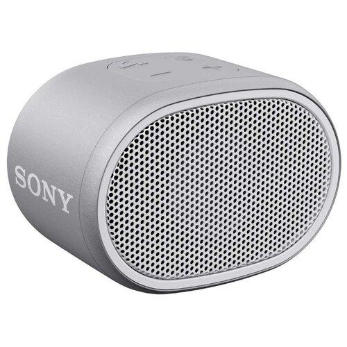Портативная акустика Sony SRS-XB01 белый портативная акустическая система sony srs xb01 l lightblue