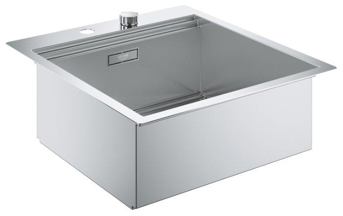 Врезная кухонная мойка Grohe K800 31583SD0 51.8х56см нержавеющая сталь