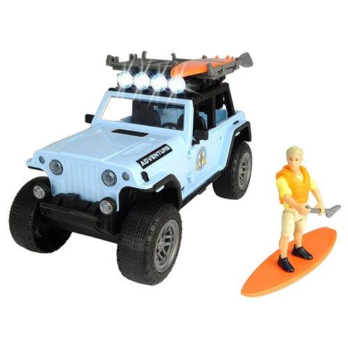 Внедорожник Dickie Toys Playlife Surfer (3834001) 1:24 22 см голубой dickie toys сигнал регулировщика со светом 25 см dickie toys
