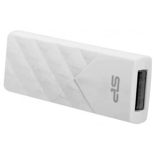Фото - Флешка Silicon Power Ultima U03 64GB белый флешка silicon power ultima u02 64gb черный