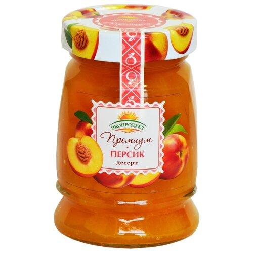 Десерт Экопродукт Премиум персик, банка 330 гВаренье, повидло, протертые ягоды<br>