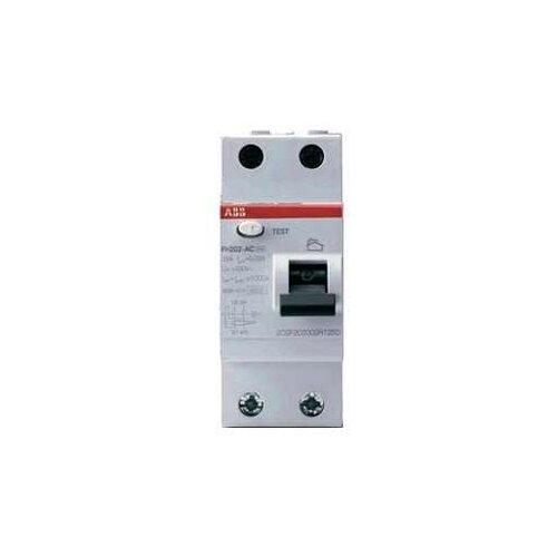 УЗО ABB 30мА тип AC FH202 (2CSF202004R1250) 2 полюса 25 АУстройства защитного отключения (УЗО)<br>