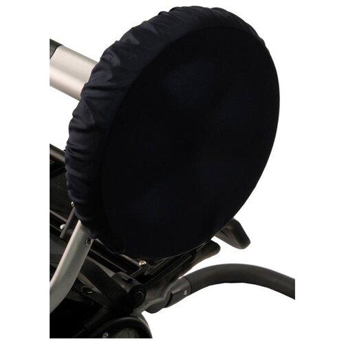 Чудо-Чадо Чехлы на колеса коляски CHK01 4 шт темно-синийАксессуары для колясок и автокресел<br>