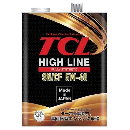 цена на Моторное масло TCL High Line 5W-40 SN/CF 4 л