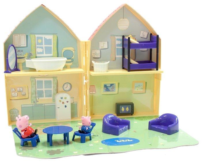 Игровой набор Домик свинки Пеппы, 33848, Бренд -Intertoy, Англия. Производство в Китае.