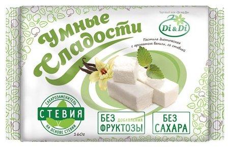 Пастила Умные Сладости вкус ванили со стевией 0,16кг