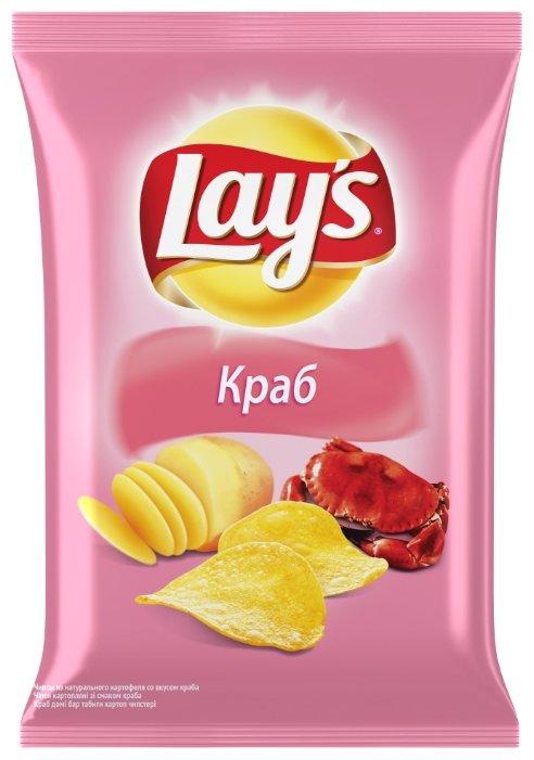 Чипсы Lay's картофельные Краб