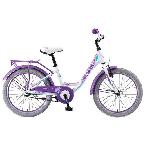 Фото - Подростковый городской велосипед STELS Pilot 250 Lady 20 V010 (2019) белый 12 (требует финальной сборки) горный mtb велосипед stels miss 5000 md 26 v010 2019 бирюзовый 17 требует финальной сборки
