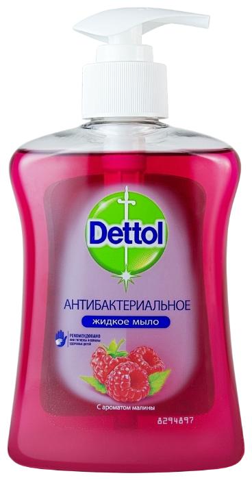 Мыло жидкое Dettol Антибактериальное c ароматом малины