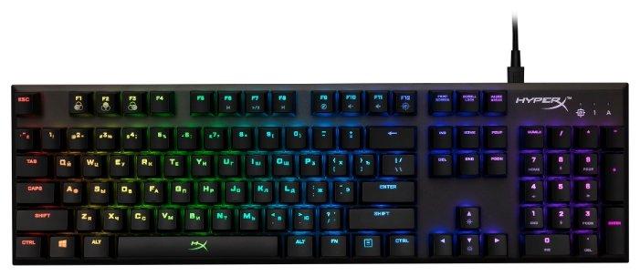 Игровая клавиатура HyperX Alloy FPS RGB Black USB