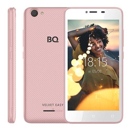 Смартфон BQ 5000G Velvet Easy розовое золотоМобильные телефоны<br>