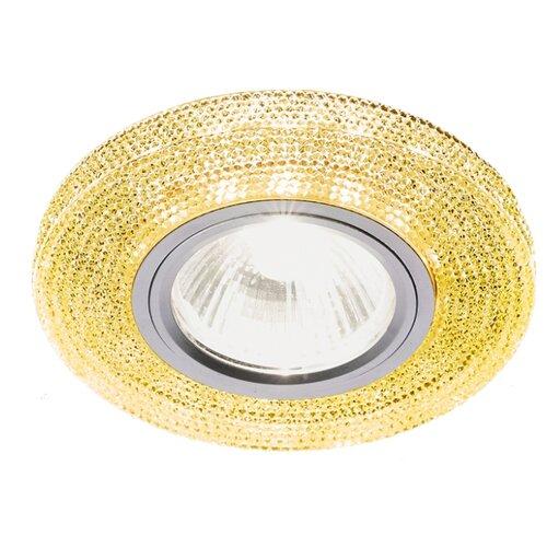 Встраиваемый светильник Ambrella light S290 GD, хром/топаз встраиваемый светильник ambrella light 611a gd gd