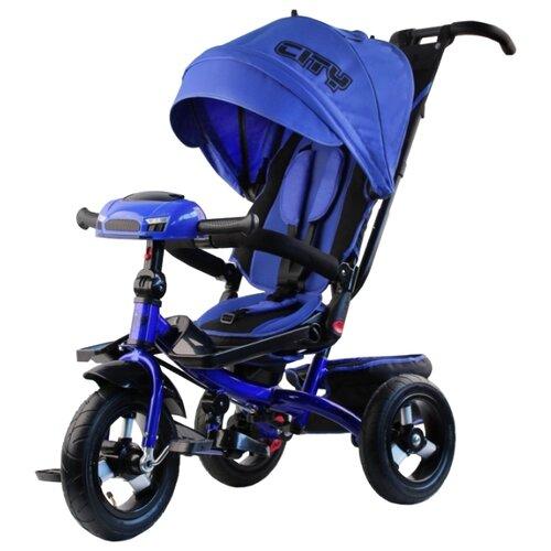 Трехколесный велосипед CITY-RIDE H5 синий