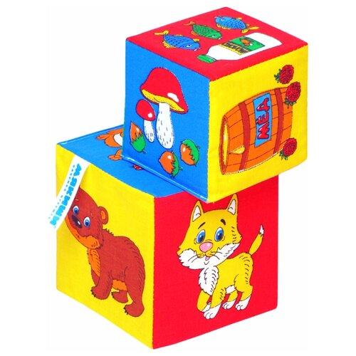 Купить Кубики Мякиши Чьё лакомство, Детские кубики