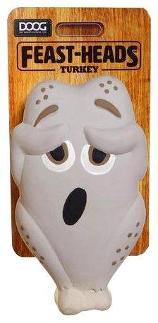 Игрушка для собак DOOG Feast-Heads Turkey
