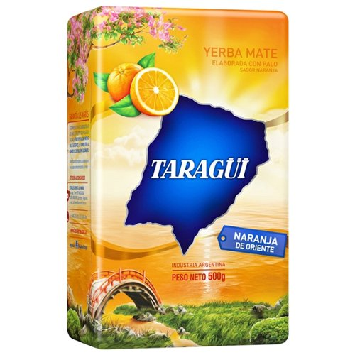Чай травяной Taragui Yerba mate Naranja de oriente , 500 г чай травяной amanda yerba mate naranja 500 г