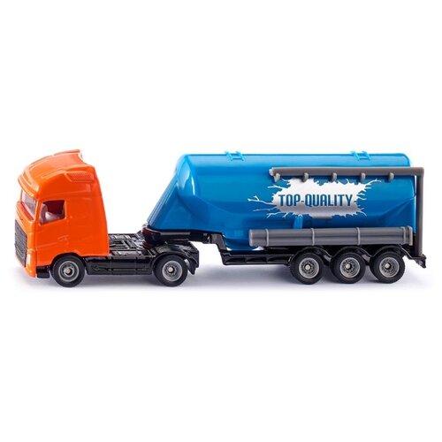 Купить Грузовик Siku Volvo FH16 с прицепом-цистерной (1792) 1:87 21 см оранжевый/синий, Машинки и техника