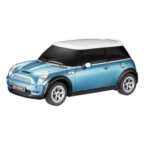Купить Легковой автомобиль Rastar Minicooper S (15000) 1:24 голубой, Радиоуправляемые игрушки
