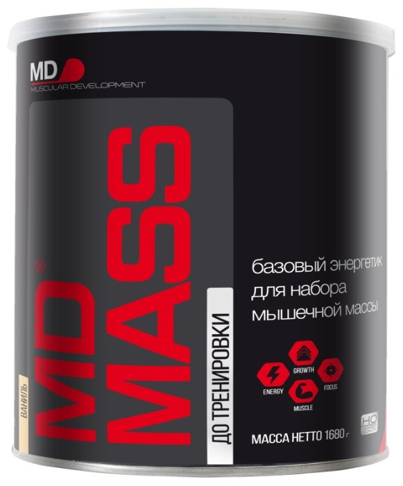 Гейнер MD MD Mass (1.68 кг)