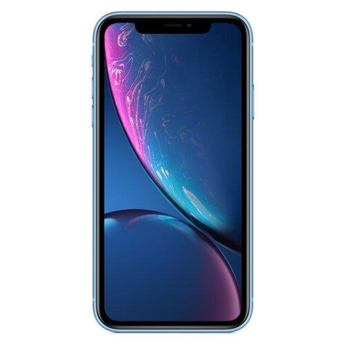 Смартфон Apple iPhone Xr 128GB синий (MRYH2RU/A)Мобильные телефоны<br>
