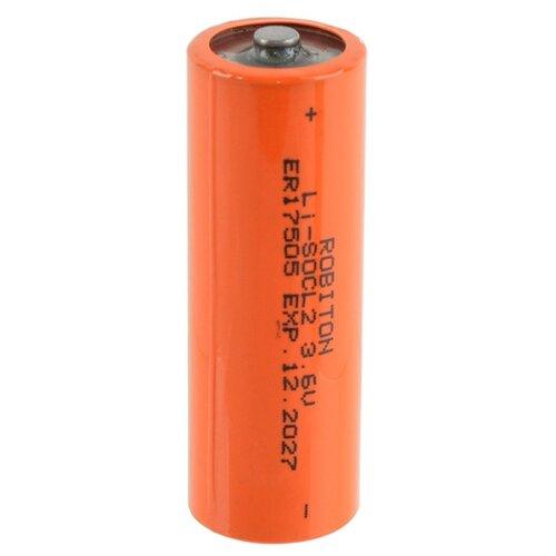 Фото - Батарейка ROBITON ER17505 A, 1 шт. батарейка robiton er26500 dp с коннектором ph1 1 шт